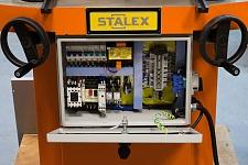 Маховики для поворота каждой губки на общий угол заготовки с 30°до140°, электрические компоненты